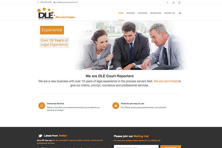 Portafolio DLE Court Reporter